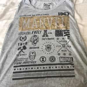 Marvel Avengers Graphic Tank-Top